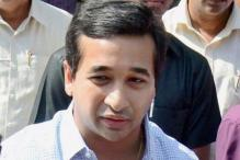 MLA Nitesh Rane Held For Throwing Fish at Govt Officer