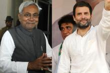 Nitish Tells Rahul to Stop Defending Lalu, Reminds Him of Day he Tore Ordinance