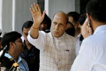 Rajnath Singh Begins Four-day J&K Visit; Will Meet CM Mufti, N.N Vohra
