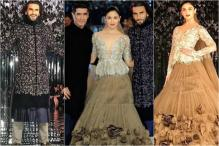 Alia-Ranveer Set The Ramp Ablaze With Their Sizzling Chemistry At Manish's Show