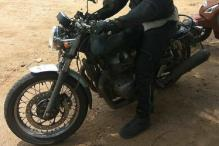 Royal Enfield New 750cc Motorcycle Spotted Testing