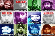 3 out of 12 Most Wanted Militants in Kashmir Are Now Dead