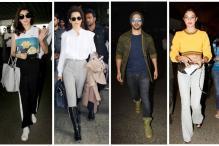 Best Of Airport Looks: Varun, Anushka, Shahid and Jacqueline Slay With Their Travel Styles