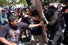 Black-clad Anarchists Storm Berkeley Rally, Assaulting Five