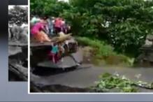Bridge Breaks in Flood-hit Bihar, Family Drowns a Step Short of Safety
