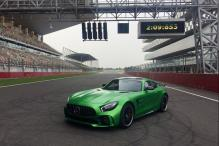 Mercedes-AMG GT R Sets Record of Fastest Lap by Production Car at Buddh International Circuit