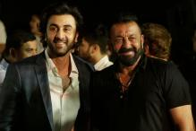 Ranbir Kapoor, Sanjay Dutt at Trailer Launch of Bhoomi