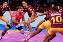 Pro Kabaddi League 2017: Jaipur Pink Panthers Down UP Yoddha in a Nail-biter