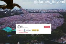 Lalu Prasad Yadav Gets Called Out On Twitter After Posting Photoshopped Image Of Patna Rally