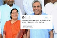 Nothing Like Marital Rape: Problematic Tweet By Ex-Governor Swaraj Sparks Outrage