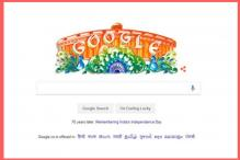 Google Celebrates Independence Day with an Artistic Doodle