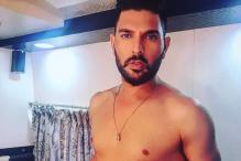 Yuvraj Goes Topless, Gets Trolled by Harbhajan & Rohit