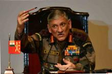 Don't See Serious Trouble, But Forces Ready for Any Exigency: Army Chief on Doklam
