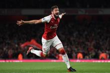 EPL 2017: Giroud Earns Arsenal Madcap Opening Win Over Leicester City