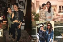 Kareena And Karisma Twinning In A Starry Jacket Is Giving Us Major Sibling Goals