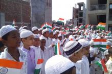 Celebrating Independence Day at a Madrassa in Uttar Pradesh