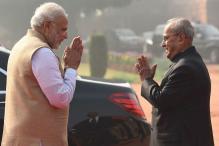 PM Modi Thanks 'Father Figure' Pranab Mukherjee in Farewell Letter