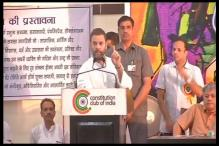 RSS Planting Its Men Everywhere: Rahul Gandhi