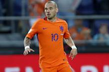 Wesley Sneijder Hoping Nice Success Will Lead to World Cup