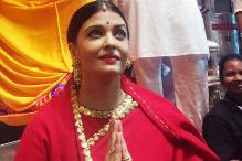 Aishwarya Rai Bachchan visits Lalbaugcha Raja