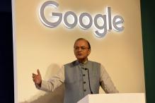 Arun Jaitley launches the Google Digital Payment App TEZ