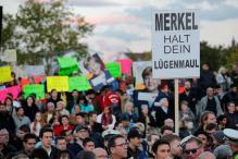 'Get lost!': Germany's 'Enraged' Hope to Shout Down Angela Merkel
