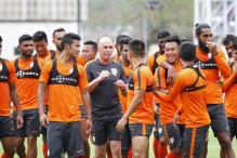 Indian Football Team Begin Week Long Preparatory Camp in Mumbai