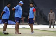 Team India's Practice Cancelled Again Due to Rain in Kolkata