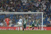 Real Madrid Go Down to Betis on Ronaldo Return