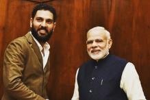 PM Narendra Modi Writes a Letter to Yuvraj Singh
