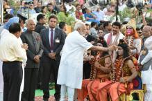 PM Modi, President Kovind Attend Ramlila Celebrations