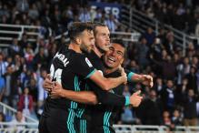 Real Madrid Beat Sociedad, Equal Pele's Santos' Record