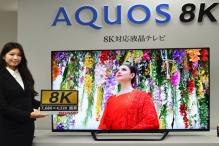 Sharp Unveils 8K Television 'Aquos' at IFA