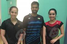 Saina Nehwal, Pullela Gopichand Train Shraddha Kapoor For Biopic