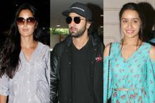 Star Spotting: Katrina Kaif, Ranbir Kapoor, Shraddha Kapoor, Sonu Nigam, Karan Johar...