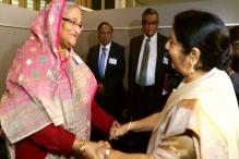 Sushma Swaraj Meets Sheikh Hasina; no Discussion on Rohingyas