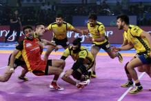 Pro Kabaddi 2017: Telugu Titans Rally Back to Hold Bengaluru Bulls