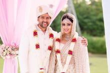 Aftab Shivdasani and Nin Dusanj Renew Their Wedding Vows In Sri Lanka