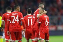 James Hits First Bundesliga Goal as Bayern Go Top