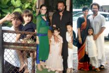 Eid Mubarak: SRK-AbRam Wish Fans; Sanjay, Aamir Celebrate With Loved Ones