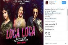 Loca Loca: Sunny Leone Grooves in Retro Vibe