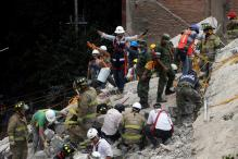 Mexico Quake: Desperate Night Search for Children in School Ruins