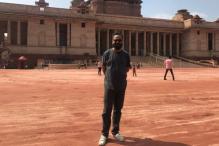 Nikkhil Advani Conducts Recce At Rashtrapati Bhavan Complex