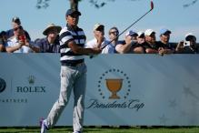 U.S. Lead International Team After First Day at Presidents Cup