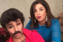 We Bet You Can't Recognize This Actress Posing With Farah Khan