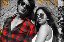 SRK Bids Suhana a Stylish Goodbye As She Leaves for School