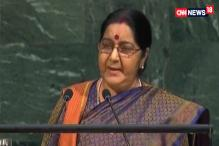 We Fight Poverty, Pakistan Fight us: Sushma Swaraj