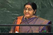 Sushma Swaraj at UN: We Created IITs and IIMs, Pakistan Created LeT and JeM