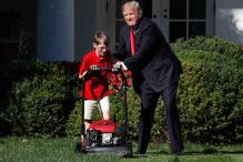 Trump's Latest Hire: 11-year-old to Mow White House Lawn