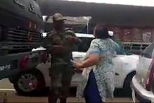 Gurugram Woman Caught Slapping Army Jawans in Viral Video, Arrested